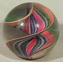 21: BB Marbles: Naked Ribbon Core Swirl