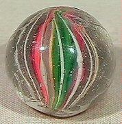 22: BB Marbles: Left-Twist Divided Swirl