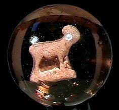 "78002: 78002 BB Marbles: Goat Sulphide 2-1/8"" 8.0  SULP"