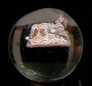 "78013: 78013 BB Marbles: Dog Sulphide 1-3/8"" 9.2  SULPH"
