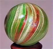 """78170: 78170 BB Marbles: Onionskin Lutz 7/8"""" 9.6 LUTZ,"""