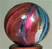 """78173: 78173 BB Marbles: Onionskin Lutz 7/8"""" 9.8 LUTZ,"""