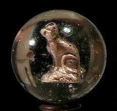 "80001: 80001 BB Marbles: Cat Sulphide 1-3/8"" 7.9"