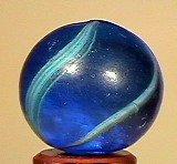 "80009: 80009 BB Marbles: Coreless Swirl 7/8"" 8.3"