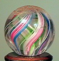 """80014: 80014 BB Marbles: Divided Core Swirl 11/16"""" 9.2"""