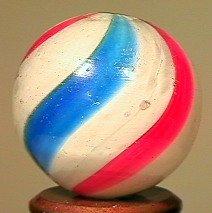 "80016: 80016 BB Marbles: Peppermint Swirl 25/32"" 8.9"