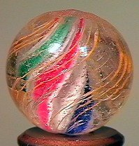 """80017: 80017 BB Marbles: Solid Core Swirl 3/4"""" 9.2"""