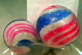 80021: 80021 BB Marbles: 2 Peppermint Swirls