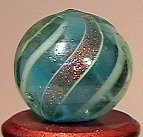 """80049: 80049 BB Marbles: Banded Lutz 9/16"""" 9.0"""