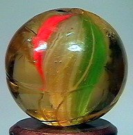 81015 BB Marbles: Color Base Solid Core Swirl