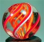 """81022 BB Marbles: Rare Latticinio Swirl 21/32"""" 9.9"""