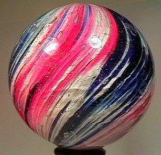 "81053 BB Marbles: 4-Panel Onionskin 1-13/16"" 7.6"