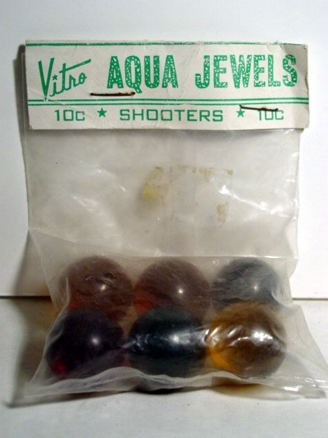 82005: 82005 BB Marbles: Vitro Agate Poly Bag