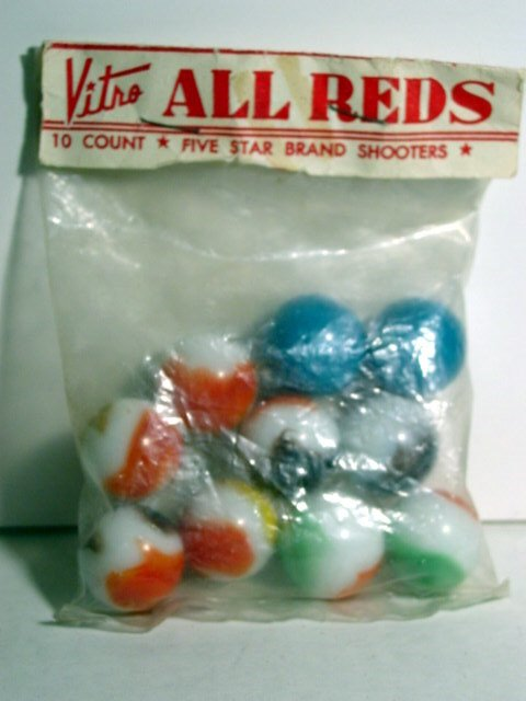 82007: 82007 BB Marbles: Vitro Agate Poly Bag
