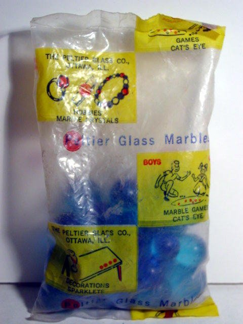 82012: 82012 BB Marbles: Peltier Craft Marble Poly Bag