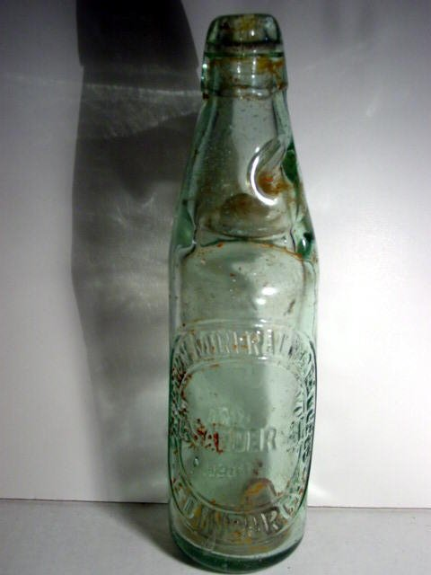 82021: 82021 BB Marbles: English Codd or Marble Bottle