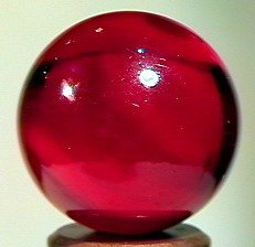 """82261: 82261 BB Marbles: Red Catseye 7/8"""" 9.1"""