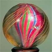 "85004: 85004 BB Marbles: Ribbon Core Swirl 1-1/16"" 8.0"