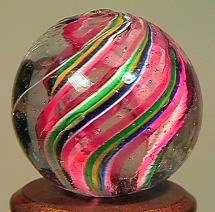"85015: 85015 BB Marbles: Divided Core Swirl 21/32"" 8.6"