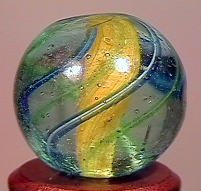 "85019: 85019 BB Marbles: Solid Core Swirl 5/8"" 9.7"