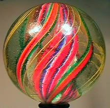 """83210 BB Marbles: Divided Swirl 2-1/8"""" 8.7"""