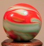 84009 BB Marbles: Christensen Swirl Flame 19/32 9. CHRI