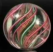 86038: 86038 BB Marbles: Latticinio core Swirl 1-11/16