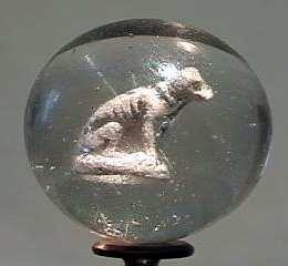 """87007 BB Marbles: Dog Sulphide 1-9/16"""" 8.2"""