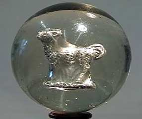 """87008 BB Marbles: Deer Sulphide 1-13/16"""" 8.9"""