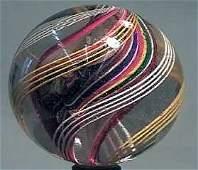 "87014 BB Marbles: Ribbon Core Swirl 2-1/4"" 8.9"