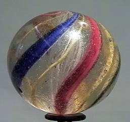 """87018 BB Marbles: Latticinio Swirl 1-11/16"""" 7.5"""