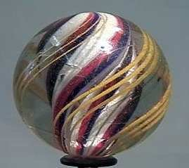 """87020 BB Marbles: Solid Core Swirl 1-3/4"""" 8.7"""