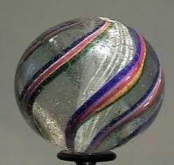 """87022 BB Marbles: Latticinio Swirl 1-5/8"""" 7.8"""