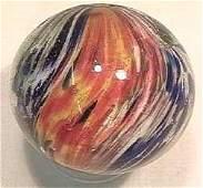 "87143 BB Marbles: 4-Panel Lobed Onionskin 2"" 9.2"