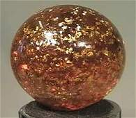 """87199 BB Marbles: Yellow Mica 1-3/16"""" 9.2"""