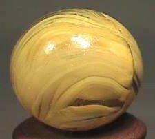 88102 BB Marbles: Christensen Striped Transparent