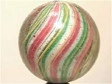"""10072: BB Marbles: Solid Core Swirl 1-1/8"""" 9."""