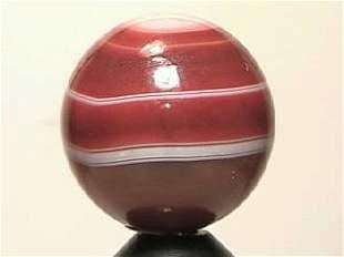 "BB Marbles: Handcut Agate 25/32"" 9.9"