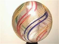 """09035: BB Marbles: Solid Core Swirl 1-15/16"""""""