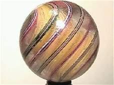 "09036: BB Marbles: Solid Core Swirl 1-3/4"" Po"