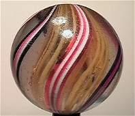 13008: BB Marbles: Latticinio Swirl 2-3/16 8.