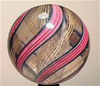 13009: BB Marbles: Latticinio Swirl 2-1/16 8.