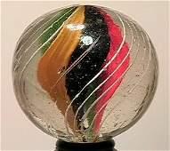 """13014: BB Marbles: Ribbon Swirl 1-7/16"""" 9.4"""