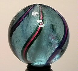"13016: BB Marbles: Solid Swirl 1-7/16"" 9.3"