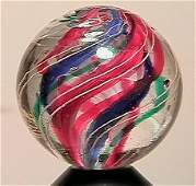 """13030: BB Marbles: Divided Swirl 23/32"""" 9.9"""