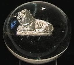 """89002: 89002 BB Marbles: Lion Sulphide 2-3/16"""" 8.9"""