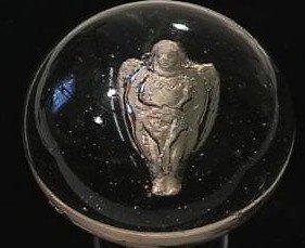 "89003: 89003 BB Marbles: Angel Sulphide 2-3/8"" 8.9"