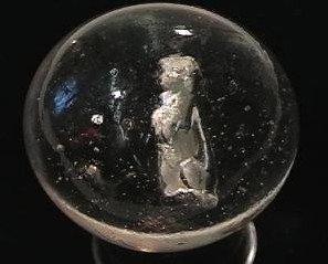 """89013: 89013 BB Marbles: Begging Dog Sulphide 2"""" 9.7"""