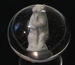 89017: 89017 BB Marbles: Bear Sulphide Buffed