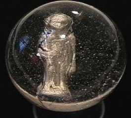 "89021: 89021 BB Marbles: Apeman Sulphide 2"" 8.9"